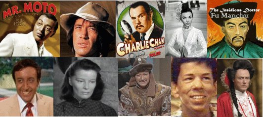 Yellowface! - on Film and TV